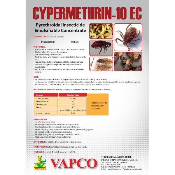 cypermethrin 10 ec